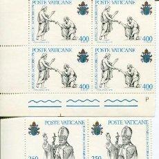 Sellos: PAPA JUAN PABLO II- 1979- HOJA DE 4 SELLOS. Lote 135753682