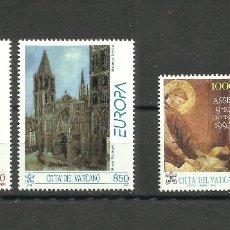 Sellos: VATICANO, 1993, MI. 1079/80, 1099/1100, MNH**. Lote 136347998