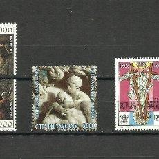 Sellos: VATICANO, 1994/95/96, MI. 1134/5, 1140, 1172/3, MNH**. Lote 136348010