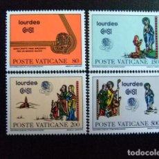 Sellos: VATICANO VATICAN 1981 42 CONGRÈS EUCHARISTIQUE INTERNATIONAL YVERT 708 / 711 ** MNH. Lote 136928674