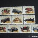 Sellos: VATICANO 1997 IVERT 1059/68 *** CARROZAS Y AUTOMOVILES PONTIFICIOS DEL MUSEO DEL VATICANO. Lote 138852846