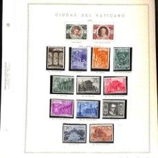 Sellos: VATICANO, 1942 - 1993 COLECCIÓN DE SELLOS Y HOJAS BLOQUE.. Lote 148087174