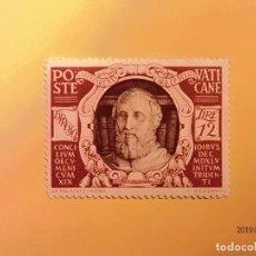 Sellos: VATICANO - XIX CONCILIO ECUMENICO DE TRENTO - GASPAR CONTARINI.. Lote 148253054