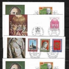 Stamps - Vaticano lote de 4 sobres primer dia - 149233078