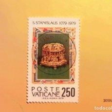 Sellos: VATICANO 1979 - 9º CENT. DEL MARTIRIO DE SAO STANISLAUS (1079-1979). . Lote 150651078