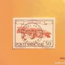 Sellos: VATICANO 1979 - 50 ANIV. DEL ESTADO - VISTA GENERAL. . Lote 150651630