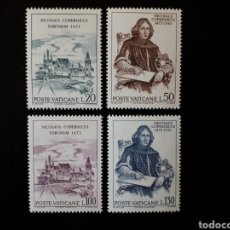 Sellos: VATICANO. YVERT 558/61 SERIE COMPLETA NUEVA SIN CHARNELA. V CENTENARIO DE NICOLÁS COPÉRNICO.. Lote 151057226