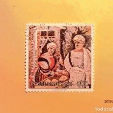 Sellos: VATICANO - RELIGIÓN - CARITAS INTERNACIONAL (1950-1990).. Lote 151482126