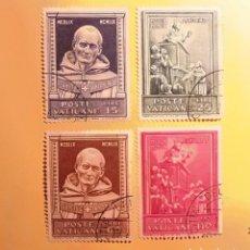 Sellos: VATICANO 1960 - 500 ANIV. DE LA MUERTE DE SAN ANTONINO - ARZOBISPO DE FLORENCIA (1389-1459) - USADO.. Lote 151496786