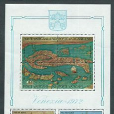 Sellos: VATICANO - HOJAS YVERT 3 ** MNH UNESCO. Lote 153356190