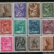 Timbres: VATICANO: 441/50 MNH. OFICIOS AÑO 1966. Lote 180479782