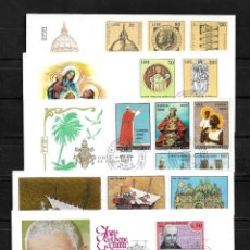 Stamps - Vaticano lote de 5 sobres de primer dia - 160982930