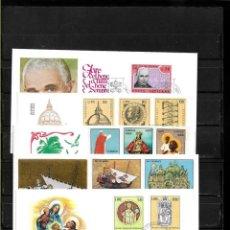 Sellos - Vaticano lote de 5 sobres primer dia - 160983074
