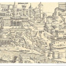 Sellos: 1982. VATICANO/VATICAN.TARJETA ENTERO POSTAL/STATIONERY. GRABADO DE 1493. ENGRAVING. SAN PEDRO.. Lote 161442710