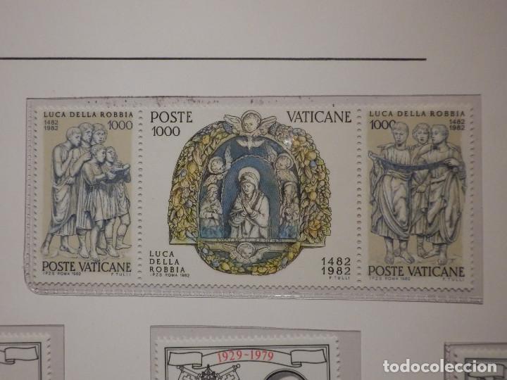 Sellos: LOTE - COLECCIÓN - EL VATICANO - 15 SELLOS NUEVOS - 1979, 1980, 1982 - EN FILOESTUCHES Y HOJA FILABO - Foto 2 - 165086378