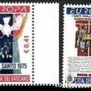 Sellos: VATICANO 2003 IVERT 1314/15 *** EUROPA - EL ARTE DEL AFICHE. Lote 167110000