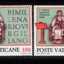 Sellos: VATICANO 706/07** - AÑO 1981 - BIMILENARIO DE VIRGILIO. Lote 167436832