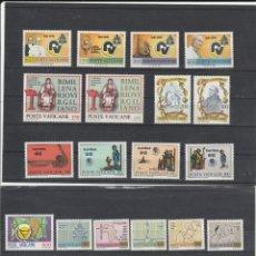 Sellos: VATICANO, CIUDAD DEL 1981 - YVERT NRO. 702-25 - NUEVOS . Lote 167456668
