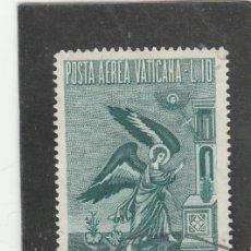 Sellos: VATICANO, CIUDAD DEL 1956 - YVERT NRO. PA 25 - USADO. Lote 167507436