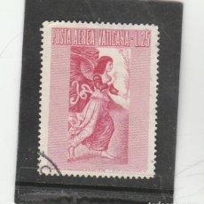 Sellos: VATICANO, CIUDAD DEL 1956 - YVERT NRO. PA 27 - USADO. Lote 167507720