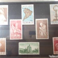 Sellos: SELLOS DEL VATICANO AÑO 1957 LOT.N 1030. Lote 172427058