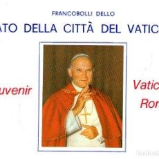 Sellos: ITALIA ESTADO DEL VATICANO DOCUMENTO FILATELICO CON FRANQUEO ROMA 1976. Lote 173963193