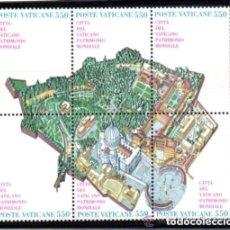 Sellos: VATICANO 1986 IVERT 786/91 *** CIUDAD DEL VATICANO - PATRIMONIO MUNDIAL. Lote 174227678