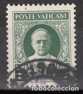VATICANO, 1934 YVERT Nº 64, EFIGIE DEL PAPA PÍO XI (Sellos - Extranjero - Europa - Vaticano)