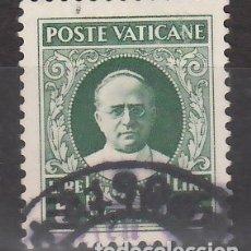 Sellos: VATICANO, 1934 YVERT Nº 64, EFIGIE DEL PAPA PÍO XI. Lote 176372435
