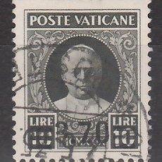 Sellos: VATICANO, 1934 YVERT Nº 65, EFIGIE DEL PAPA PÍO XI. Lote 176372544