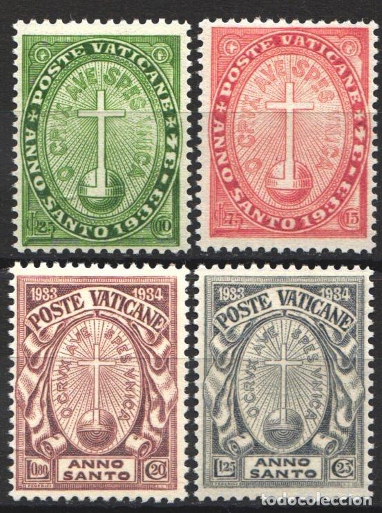 VATICANO. 1933 YVERT Nº 40 / 43 /*/ (Sellos - Extranjero - Europa - Vaticano)
