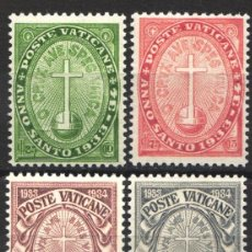 Sellos: VATICANO. 1933 YVERT Nº 40 / 43 /*/. Lote 179025223