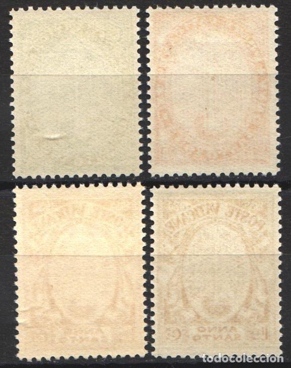 Sellos: VATICANO. 1933 YVERT Nº 40 / 43 /*/ - Foto 2 - 179025223