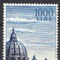 Sellos: VATICANO, AÉREO 1953 YVERT Nº 23 /**/ IGLESIA DE SAN PEDRO, SIN FIJASELLOS. Lote 179115825