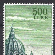 Sellos: VATICANO, AÉREO 1958 YVERT Nº 33 /**/ IGLESIA DE SAN PEDRO, SIN FIJASELLOS. Lote 179115832