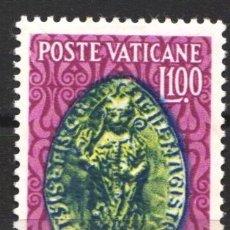 Sellos: VATICANO, 1953 YVERT Nº 191 /*/, VIII CENTENARIO DE LA MUERTE DE PETER LOMBARD. Lote 179115895