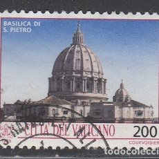 Sellos: VATICANO 1993 - BASILICA DE SAN PEDRO - YVERT Nº 942 USADO. Lote 180134162