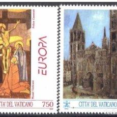 Sellos: VATICANO 1993 - EUROPA CEPT - YVERT Nº 959/960**. Lote 180134467