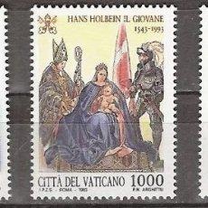 Sellos: VATICANO 1993 - 400 ANIVERSARIO DE HANS HOLBEIN - YVERT Nº 966/968**. Lote 180135841