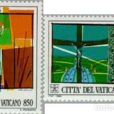 Sellos: VATICANO 1994 - ASAMBLEA DEL SINODO EPISCOPAL POR AFRICA - YVERT Nº 978/979**. Lote 180136090