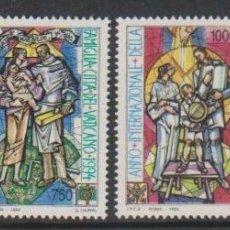 Sellos: VATICANO 1994 - AÑO INTERNACIONAL DE LA FAMILIA - YVERT Nº 980/983**. Lote 180136166