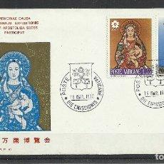 Sellos: VATICANO 1970 - OSAKA - SPD. Lote 180435058