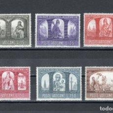 Sellos: GIROEXLIBRIS. VATICANO.- 1966 MILENARIO DEL CRISTIANISMO EN POLONIA YVERT&TELLIER 451/456**. Lote 180450181