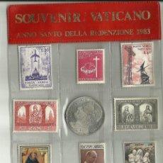 Sellos: VATICANO - ANNO SANTO 1983 - RARO. Lote 180507570