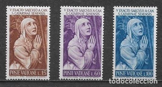 VATICANO 1962 ** SERIE COMPLETA - 7/36 (Sellos - Extranjero - Europa - Vaticano)