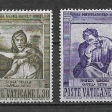 Sellos: VATICANO 1964 ** SERIE COMPLETA - 7/37. Lote 182682675