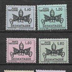 Sellos: VATICANO 1968 ** SERIE COMPLETA - 7/38. Lote 182683215