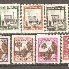 Timbres: VATICANO 1933 CAT. YT. VA.44 A 52 - NUEVOS,GOMA ORIGINAL,SIN FIJASELLOS .. Lote 182889170