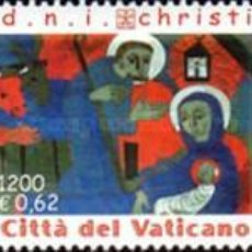 Sellos: VATICANO - 1247/1249 - AÑO 2001 - NAVIDAD - NUEVOS. Lote 183677927