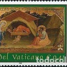 Sellos: VATICANO - 1282 - AÑO 2002 - NAVIDAD - NUEVOS. Lote 183897447